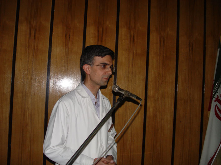 رضا نيك پيام ، كنفرانس سوختگي الكتريكي